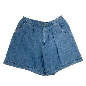 Regatta Shorts Womens Size 14 Blue Denim 100% Cott